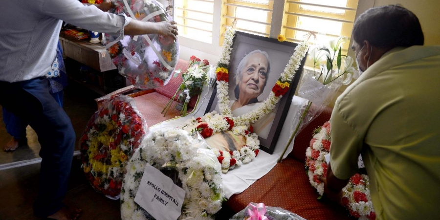 Dr. V Shanta Death Cause