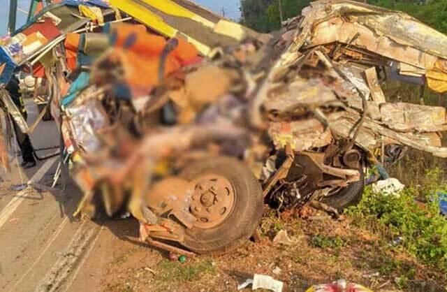 karnataka accident images