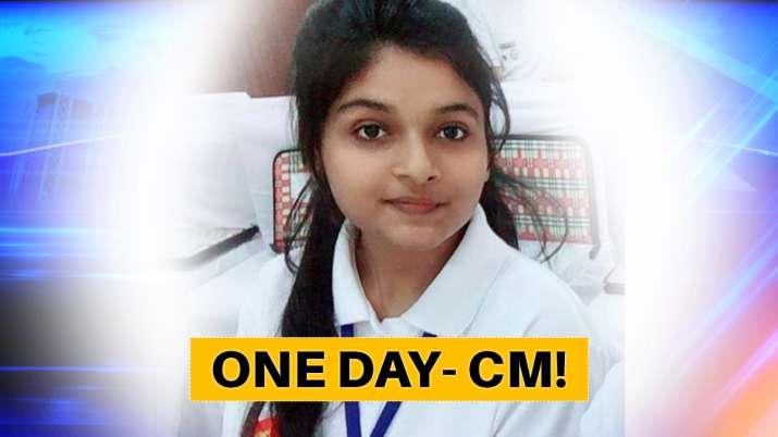 Srishti goswami One Day CM WIKI