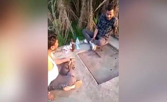 UP Man Shoots Nephew Dead Viral Video