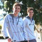 Mitchell Starc with his brother Brandon