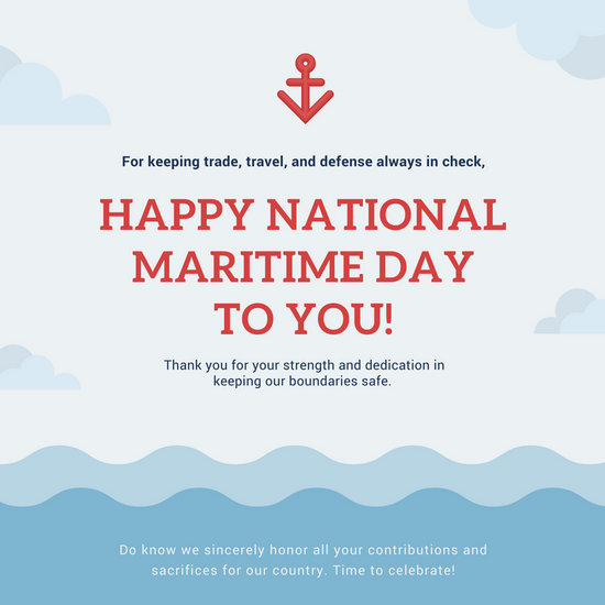 India Maritime Day Quotes Images