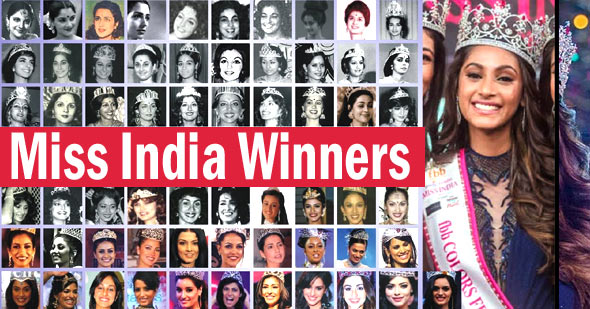 Femina Miss India List From 1964 to 2021 - All Miss Universe list from India
