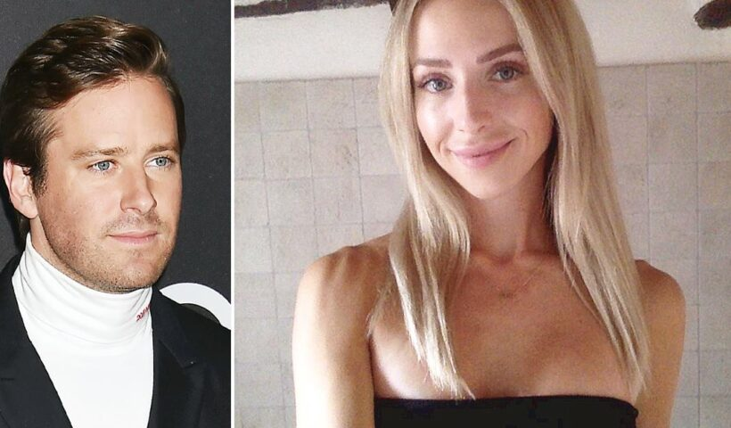 Who is Armie Hammer's new Girlfriend Lisa Perejma