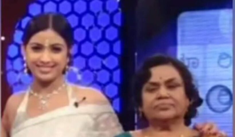 Veteran Actress B Jaya