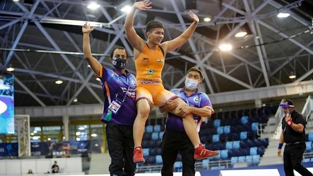 Wrestler Priya Malik